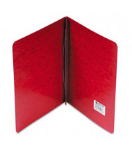 "Acco 3"" Capacity 8-1/2"" x 11"" Prong Clip Pressboard Reinforced Hinge Report Cover, Executive Red"