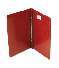 """Acco 3"""" Capacity 8-1/2"""" x 14"""" Prong Clip Reinforced Hinge Report Cover, Red"""