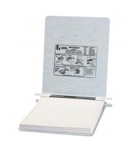 "Acco 9-1/2"" x 11"" Unburst Sheet Pressboard Hanging Data Binder, Light Gray"