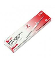 "Acco 2-3/4"" Length 2"" Capacity Self-Adhesive Paper File Fasteners, 100/Box"
