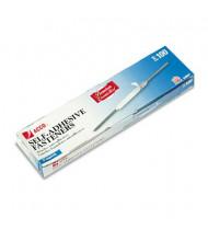 """Acco 2-3/4"""" Length 2"""" Capacity Premium Self-Adhesive Paper File Fasteners, 100/Box"""