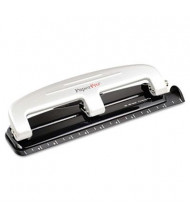 PaperPro 12-Sheet Compact 3-Hole Punch, Gray