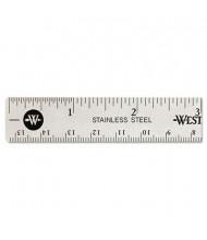 "Westcott 6"" Stainless Steel Ruler"