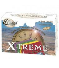 """Alliance 7"""" x 1/8"""" Size #117B X-treme Lime Green File Bands, 1 lb. Box"""