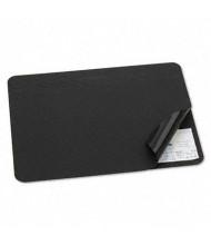 "Artistic 19"" x 24"" Hide-Away PVC Desk Pad, Black"