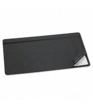 "Artistic 20"" x 31"" Hide-Away PVC Desk Pad, Black"