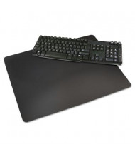 "Artistic 17"" x 24"" Rhinolin II Desk Pad with Microban, Black"