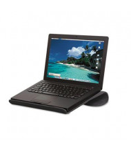 "Allsop 2-4/5"" H Cool Channel Notebook Platform, Charcoal Gray"