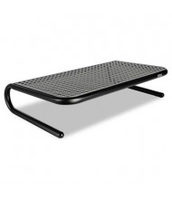 "Allsop 5-1/4"" H Metal Art Monitor Stand, Black"