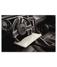AutoExec WheelMate Steering Wheel Attachable Work Surface, Gray