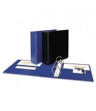 "Avery 3"" Capacity 8-1/2"" x 11"" EZD Ring Durable Non-View Binder, Navy Blue"