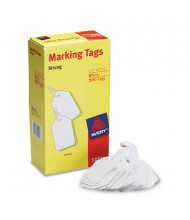 "Avery 2-3/4"" x 1-3/4"" Marking Tags, White, 1000/Box"