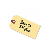 "Avery 3-3/4"" x 1-7/8"" Paper Shipping Tags, Manila, 1000/Box"