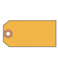 "Avery 4-3/4"" x 2-3/8"" Shipping Tags, Yellow, 1000/Box"