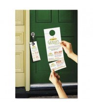 "Avery 4-1/4"" X 11"", 80-Pack, Door Hangers with Tear-Away Cards"