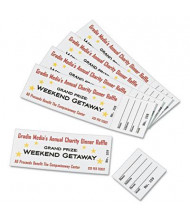 "Avery 1-3/4"" X 5-1/2"", 65lb, 200-Pack, Tickets with Tear-Away Stubs"