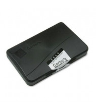 "Carter's Felt Stamp Pad, 4-1/4"" x 2-3/4"", Black Ink"