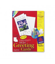 "Avery 5-1/2"" x 8-1/2"", 20-Cards, Matte Inkjet Greeting Cards with Envelopes"