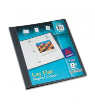 """Avery 1/2"""" Capacity 8-1/2"""" x 11"""" Flex Fastener Poly Report Cover, Gray"""