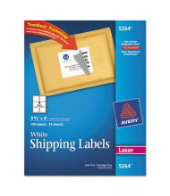 "Avery 3-1/3"" x 4"" Laser and Inkjet Printer Internet Shipping Labels, White, 150/Pack"