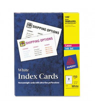 "Avery 3"" x 5"", 150-Cards, Unruled Index Card Stock"