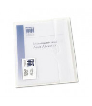 Avery Translucent Letter Poly Document Wallets, Clear, 12/Box