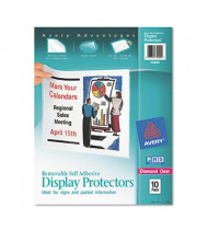 "Avery 8-1/2"" x 11"" Top-Load Display Sheet Protectors, 10/Pack"