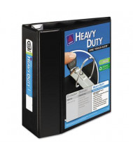 "Avery 5"" Capacity 8-1/2"" x 11"" EZD Ring One Touch View Binder, Black"