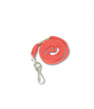 "Advantus 36"" J-Hook Deluxe Lanyards, Red, 24/Box"