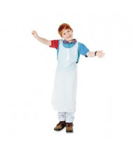 Baumgartens Children's Disposable Polypropylene Apron, White, 100/Pack