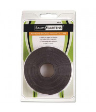 "MasterVision 1/2"" x 10 ft. Magnetic Tape, Black, 1 Roll"