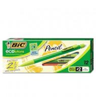 BIC Ecolutions #2 0.7 mm Assorted Colors Plastic Mechanical Pencils, 12-Pack
