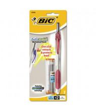BIC Automatic #2 0.5 mm Burgundy Clear Plastic Mechanical Pencil