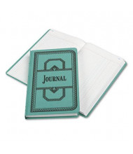 "Boorum & Pease 7-5/8"" x 12-1/8"" 150-Page Journal Rule Record Account Book, Blue Cover"