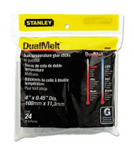 Stanley Bostitch 11.20 oz Dual Temperature Glue Gun Sticks, 24/Pack