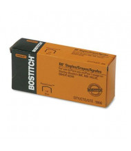 "Stanley Bostitch 30-Sheet Capacity B8 Powercrown Staples, 1/4"" Leg, 5000/Box"