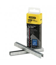 "Stanley SharpShooter Staples, 3/8"" Leg, 1000/Box"