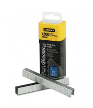 "Stanley SharpShooter Staples, 1/2"" Leg, 1000/Box"