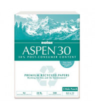 "Boise Aspen 8-1/2"" x 11"", 20lb, 5000-Sheets, 3-Hole Punched Multi-Use Office Paper"