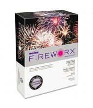 "Boise Fireworx 8-1/2"" x 11"", 20lb, 500-Sheets, Luminous Lavender Colored Printer Paper"