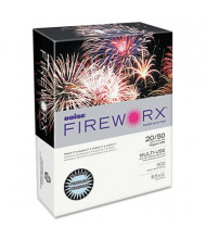 "Boise Fireworx 8-1/2"" x 11"", 20lb, 500-Sheets, Turbulent Turquoise Colored Printer Paper"
