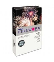 "Boise Fireworx 8-1/2"" x 14"", 20lb, 500-Sheets, Bottle Rocket Blue Colored Printer Paper"
