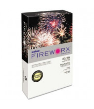 """Boise Fireworx 8-1/2"""" x 14"""", 20lb, 500-Sheets, Crackling Canary Colored Printer Paper"""