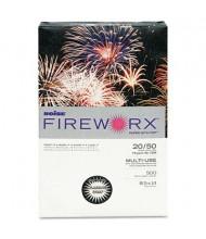 "Boise Fireworx 8-1/2"" x 14"", 20lb, 500-Sheets, Flashing Ivory Colored Printer Paper"