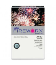 "Boise Fireworx 11"" x 17"", 20lb, 500-Sheets, Bottle Rocket Blue Colored Printer Paper"