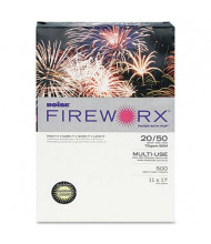 "Boise Fireworx 11"" x 17"", 20lb, 500-Sheets, Crackling Canary Colored Printer Paper"