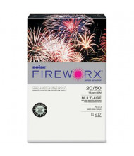 "Boise Fireworx 11"" x 17"", 20lb, 500-Sheets, Popper-mint Green Colored Printer Paper"