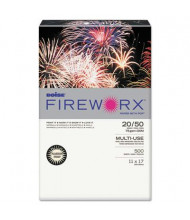"Boise Fireworx 11"" x 17"", 20lb, 500-Sheets, Flashing Ivory Colored Printer Paper"