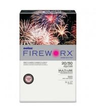 """Boise Fireworx 11"""" x 17"""", 20lb, 500-Sheets, Powder Pink Colored Printer Paper"""