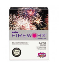 "Boise Fireworx 8-1/2"" x 11"", 24lb, 500-Sheets, Flashing Ivory Colored Printer Paper"
